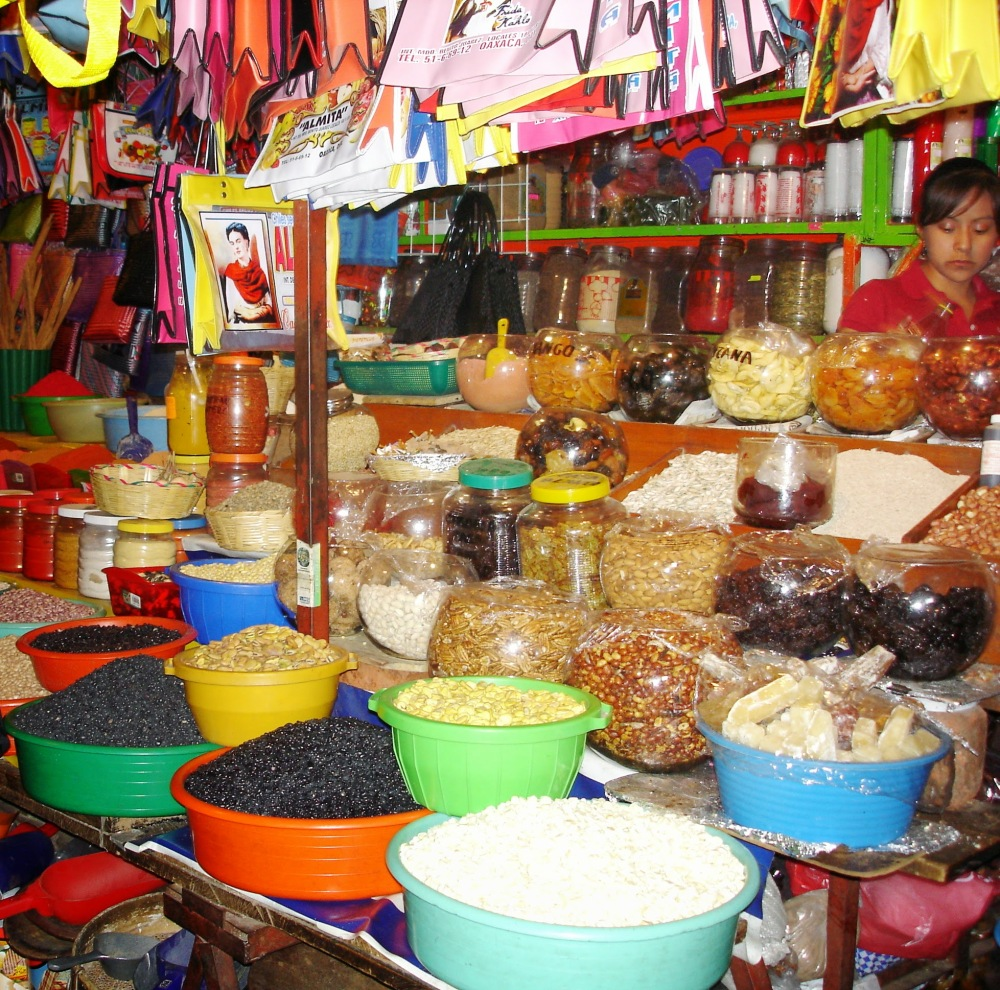Oaxaca market crop